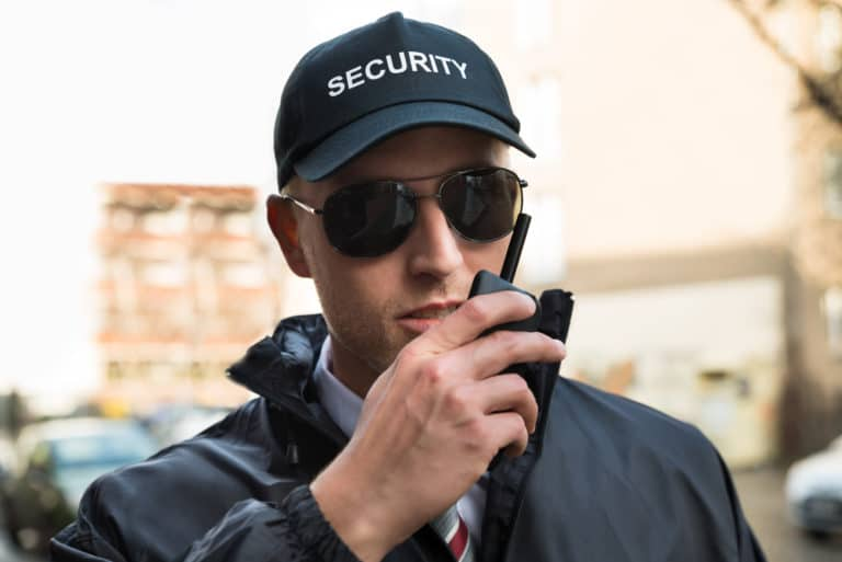 THE DUTIES OF A PROFESSIONAL SECURITY GUARD